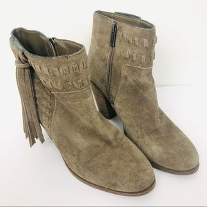 Jessica Simpson Tan suede boots size 8.5M
